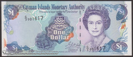 TWN - CAYMAN ISLANDS 26b - 1 Dollar 2001 Prefix C/3 UNC - Kaimaninseln