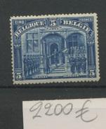 147   FRANKEN  Sans Charnière  Cote 2200 E - Belgique