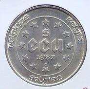BOUDEWIJN * 5 ECU 1987 * Prachtig * Nr 9700 - 12. Ecus