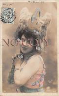 CPA - Portrait D' Artiste - L'Argent - Par Walery - Jolie Jeune Femme Pretty Young Lady - Théâtre Rôle - Ajoutis - Artiesten