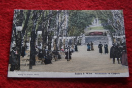 Niederosterreich Baden B. Wien Promenade Im Kurpark Verlag R. Jecham NV - Österreich