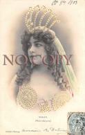 CPA - Portrait D' Artiste - Rohan - Par Walery - Jolie Jeune Femme Pretty Young Lady - Théâtre Folies Bergère 1903 - Artiesten
