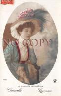CPA - Portrait D' Artiste - Clairville - Gymnase - La Toilette Au Théâtre - Jolie Jeune Femme - Par Henri Manuel - Artistes