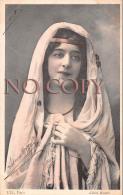CPA - Portrait D' Artiste Par Henri Manuel - Jolie Jeune Femme Pretty Young Lady - Théâtre Actrice - Artiesten