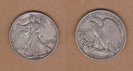 AC - USA - 1943 WALKING LIBERTY HALF DOLLAR-0.90 SILVER - EDICIONES FEDERALES