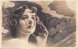 CPA - Portrait D' Artiste - Jolie Jeune Femme Pretty Young Lady - Théâtre Actrice - Art Nouveau - Artiesten
