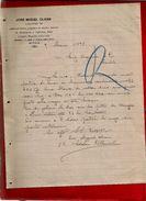 Courrier Espagne José Miguel Olivan Espolon Burgos 9-03-1898 - écrit En Espagnol - Espagne