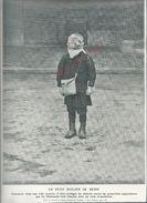 MILITARIA 14/18 COUPURE DE PRESSE MILITAIRE UN PETIT ÉCOLIER DE REIMS : - 1914-18