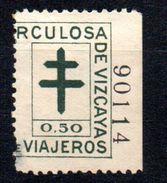 Viñeta Tuberculoso De Vizcaya. - Sonstige
