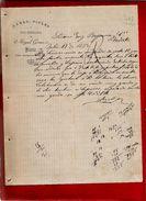 Courrier Espagne Lanas Pieles Y Polvo Preservativo Miguel Gomez Vitoria 18-07-1893 ? - écrit En Espagnol - Espagne