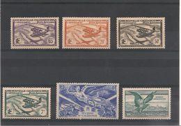 NOUVELLE CALEDONIE.  Années 1938/42 LOT  P.A.  Côte: 13,35 - Poste Aérienne