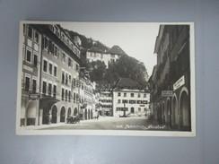 CPA PHOTO AUTRICHE FELDKIRCH NEUSTADT VOITURE ANCIENNE - Feldkirch