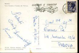 26397 Italia, Special Postmark Slogan 1961   Safety Road,report Overtaking - Incidenti E Sicurezza Stradale