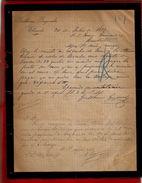 Courrier Espagne Guillermo Goyeneche Elizondo 30-07-1899 - écrit En Espagnol - Espagne