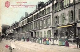 CPA 75 TOUT PARIS N° 632 XIX° Rue De Flandre Sortie USINE RAFFINERIE SOMMIER Bon état Cf Scans Recto Verso - Arrondissement: 19
