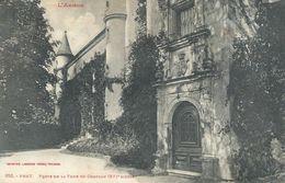 09 Ariège Prat Porte De La Tour Du Château XVIè Siècle - France