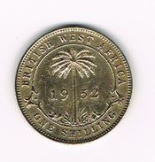 *** BRITISH  WEST  AFRICA  1 SHILLING  1952 - Kolonien