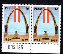 Pareja De Sellos De Peru Nº 664. - Peru