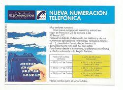 TELEPHONIE PUBLICITE PTT TELECOMMUNICATONS - EN ESPAGNOL - Advertising