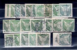 1919 Les Aigles5 H Belle Etude Du 5 : Couleur , Teinte , Dentelés , Bord De Feuille , Paire  ( 25 Pieces TB) - Newspaper Stamps