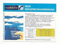 TELEPHONIE PUBLICITE PTT TELECOMMUNICATIONS - EN ALLEMAND - Advertising