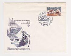 Enveloppe 1er Jour / Journée Du Timbre 1966 / Saint Malo / 19-03-6 - FDC