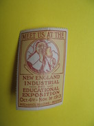 Vignette Meet Us At The New Industrial And Educational Exposition 1913 - Erinnophilie