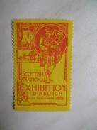 Vignette Scottish National Exhibition Edinburgh 1908 - Erinnophilie