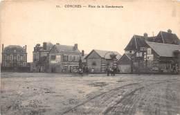 27 - EURE / Conches - 271691 - Place De La Gendarmerie - Conches-en-Ouche