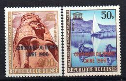 Sello Nº 271 + A-64 Guinee - UNESCO
