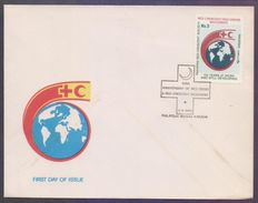 PAKISTAN 1988 FDC - 125 Years Of Red Cross & Red Crescent Movement, First Day Cover - Pakistan