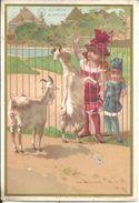 Chromos  Au Bon Marché Les Chèvres - Au Bon Marché