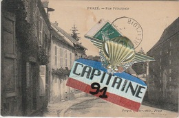 CPA FRAZE EURE ET LOIR RUE PRINCIPALE - France