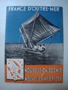 FRANCE D'OUTRE-MER. NOUVELLE-CALÉDONIE ET NOUVELLES-HÉBRIDES - 1950 APROX. 16 PAGES. MINT CONDITION. - Dépliants Touristiques