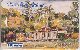 Nlle - CALÉDONIE  - PHONE CARD - ° TAXCARD- CHIP    ***  FONWHARY  140U *** - New Caledonia