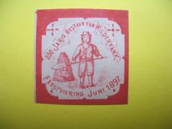 Vignette 250 Jarig Bestann Van Wilderyanl Feestviering Juini 1897 - Cinderellas