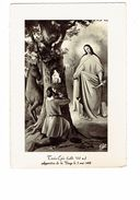 Cpm - TROIS-EPIS - Apparition De La Vierge 1491 - Cheval Homme Prière Arbre - Vergine Maria E Madonne