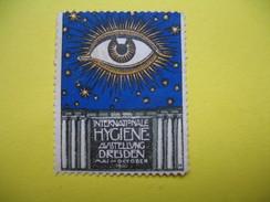Vignette Internationale Hygiène Ausstellung Dresden 1911 - Erinnophilie