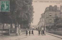 L'ISLE-ADAM - La Rue St-Lazare - - L'Isle Adam