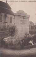 VAUXREZIS - Le Monument Aux Victimes De La Guerre - - Autres Communes