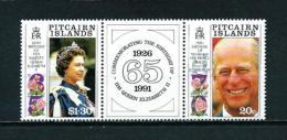 Islas Pitcairn (Británicas)  Nº Yvert  370/1  En Nuevo - Sellos