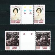 Islas Pitcairn (Británicas)  Nº Yvert  347/8 (pareja Con Interpanel)  En Nuevo - Sellos