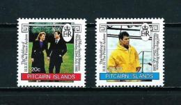 Islas Pitcairn (Británicas)  Nº Yvert  273/4  En Nuevo - Sellos