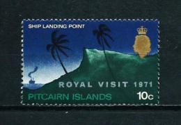 Islas Pitcairn (Británicas)  Nº Yvert  117 (sobrecarga)  En Nuevo - Sellos