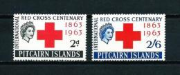 Islas Pitcairn (Británicas)  Nº Yvert  36/7  En Nuevo - Sellos