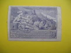 Vignette Allgem. Deutsche Photographische Ausstellung Heidelberg 1912 - Erinnophilie