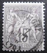 LOT R1576/32 - SAGE Type I N°66 - CàD - Cote : 18,00 € - 1876-1878 Sage (Type I)