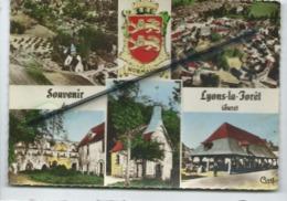 CPM -  Souvenir De Lyons La Forêt  -  (Eure) -  Multivue , Multivues - Lyons-la-Forêt
