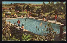 B3676 FIJI ISLANDS - SWIMMING POOL IN THE HOTEL MOCAMBO - Figi