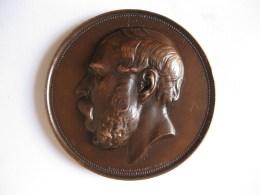 Médaille Jean Servais Stas, 5e Congrès De Chimie Biologique, BRUXELLES 1935, Par MICHAUX. - Unclassified